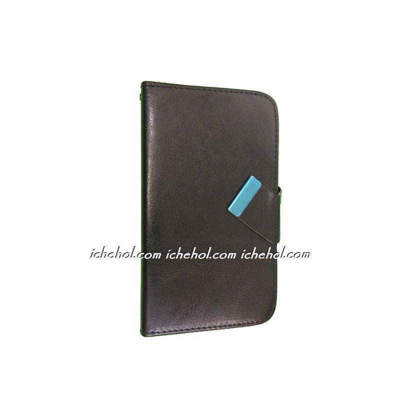 Чехол книжка для телефона от 4. до 4.4 дюймов Черный