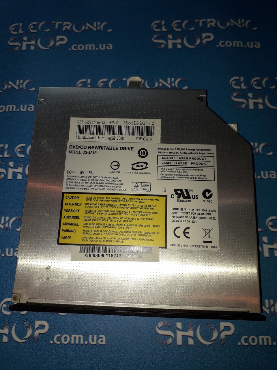 DVD приводDS-8A1P Original б.у