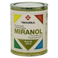 Декоративная краска Тиккурила Миранол, 1л — золото