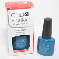 "Гель-лак Shellac CND ""Blue Rapture"""