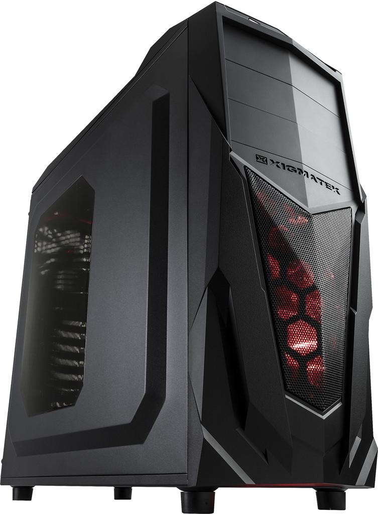 Корпус Xigmatek Mach II Black (EN6732)