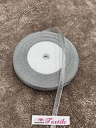 Стрічка парча 0.5 см (срібло) 23 м