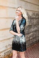 Шикарное стильное платье с красивыми пайетками от Esmara, Германия, размер  украинский 44-46, фото 1