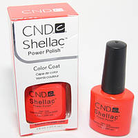 "Гель-лак Shellac CND ""Electric Orange"""