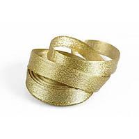 Лента  парча  30мм  золото