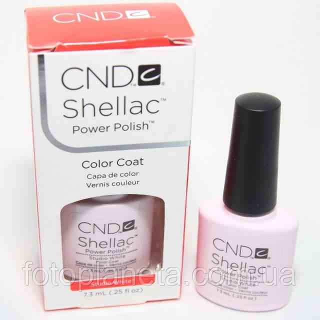 "Гель-лак Shellac CND ""Studio White"""