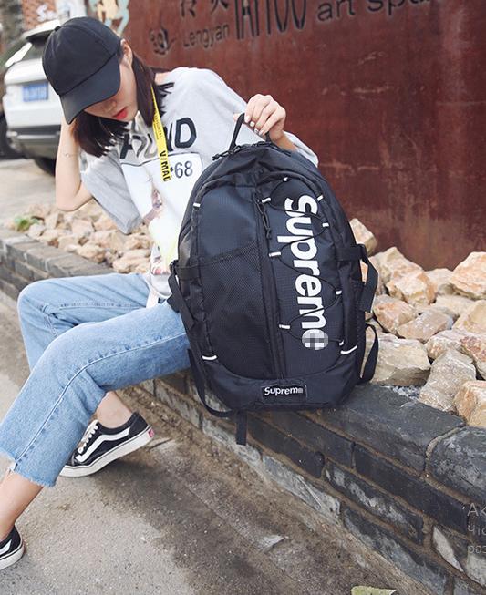 Рюкзак Supreme чёрный