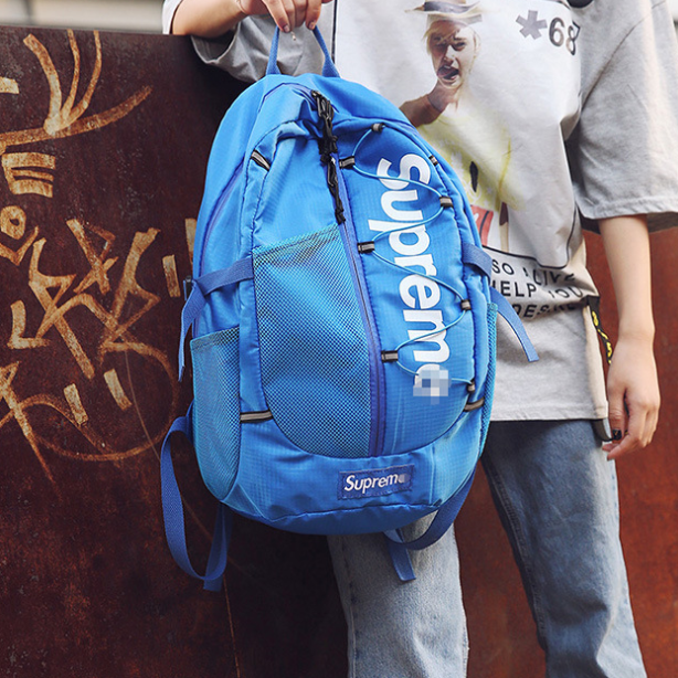 Рюкзак Supreme голубой
