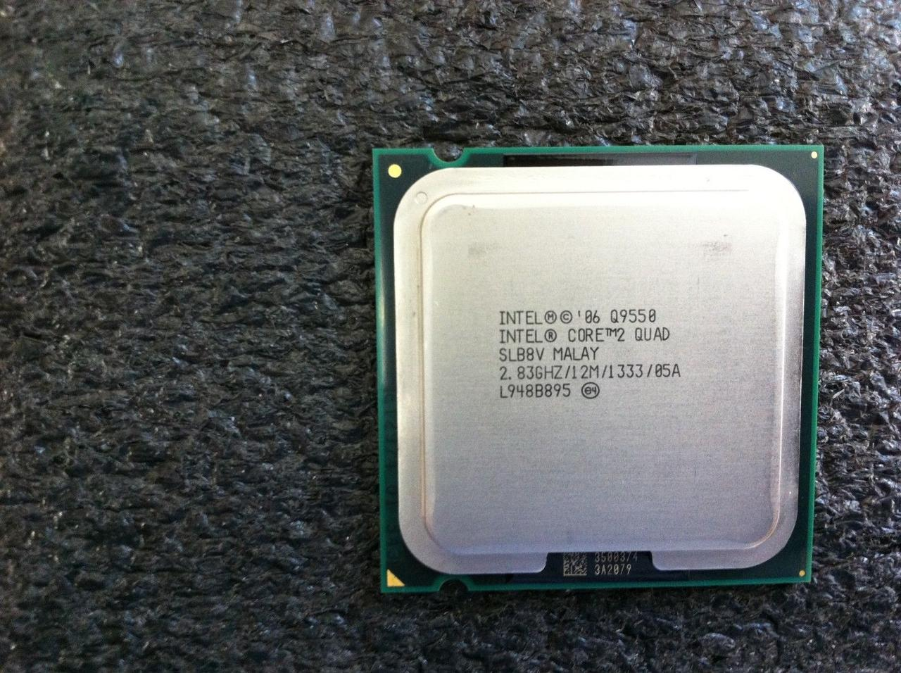 Процессор Intel Core2 Quad Q9550 2.83GHz/12M/1333 (SLB8V) s775, tray