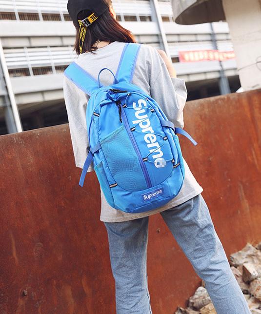 Рюкзак спортивный голубой