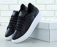 Кроссовки женские зимние Alexander McQueen Oversized Sneakers Winter (Реплика  ААА+) 0b38b082ee160