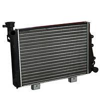 Радиатор охлаждения 2104 2105 2107 алюминиевый Лузар