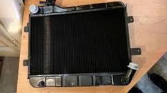 Радиатор охлаждения 2104 2105 2107 медный Оренбург