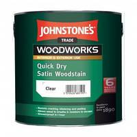 Антисептик Johnstones Quick Dry Satin Woodstain 2,5 л