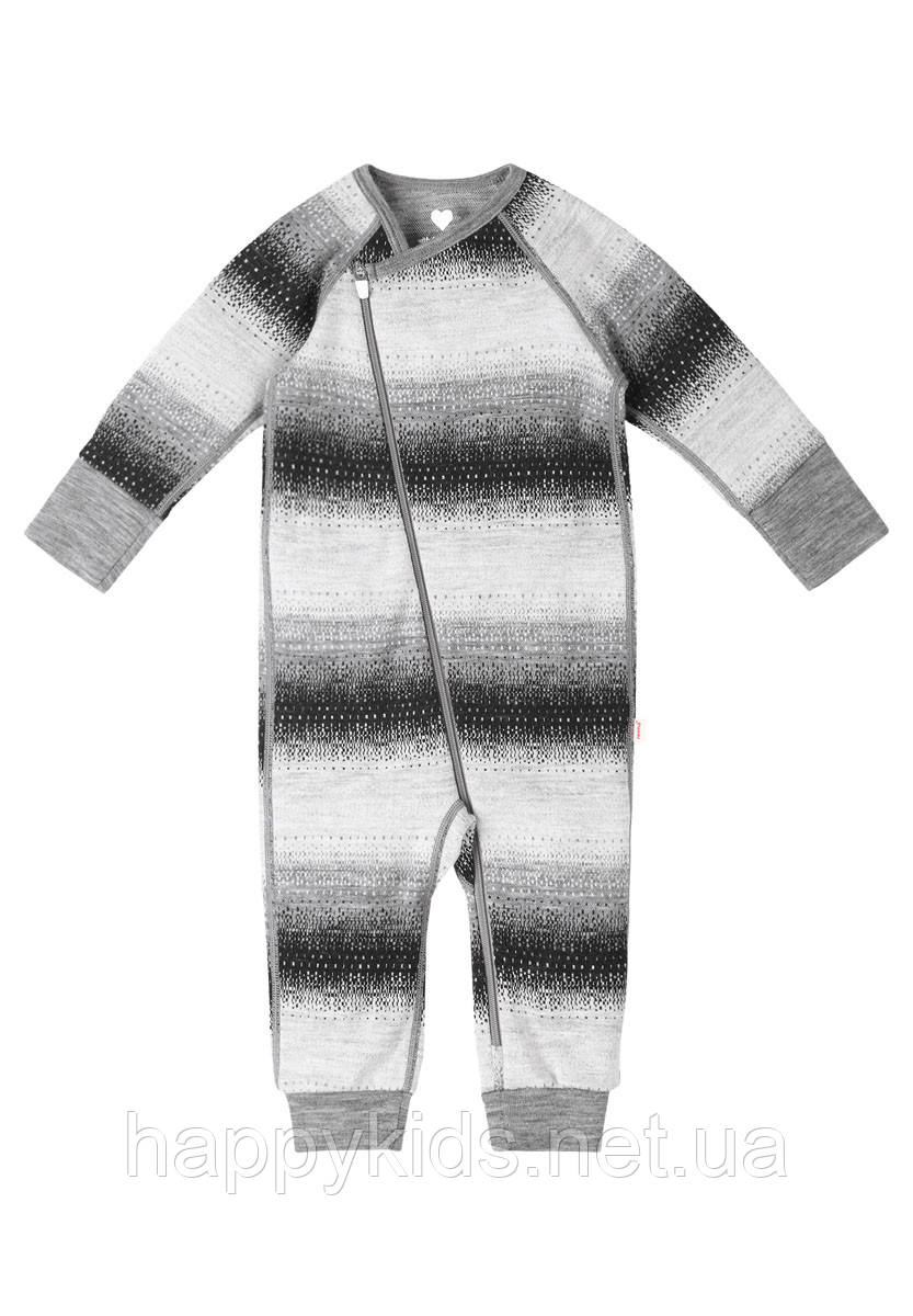 Шерстяной комбинезон для мальчика Reima Kasvu 516405-9401. Размеры 50/56 - 62/68.