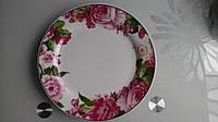 Тарелка17,5 фарфоровая ПИОН