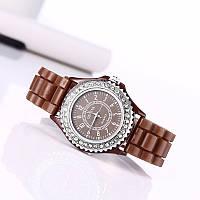 Часы женские GENEVA Luxury Коричневый