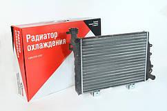 Радіатор охолодження 2104, 2105, 2107 алюмінієвий ДААЗ з отвором під датчик