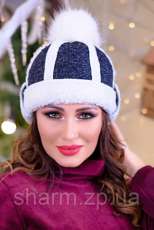 Шапка женская на овчине купить в Киеве 2a03ae04e2168