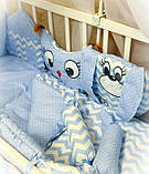 Постельный комплект в детскую кроватку Bonna, фото 4
