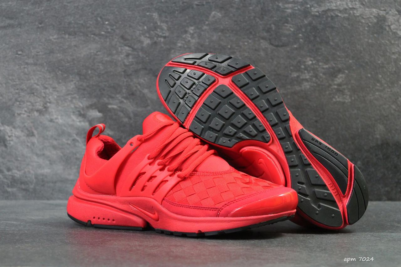 0abee8c6 Мужские кроссовки Nike Air Presto TP QS красного цвета ( Реплика ААА+) -  bonny