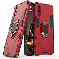 Чехол Ring Armor для Huawei P20 Красный