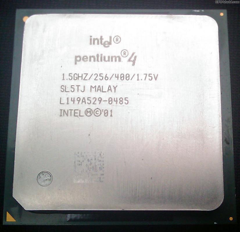 Процессор Intel Pentium 4 1.5GHz/256/400 (SL5TJ) s478, tray