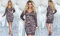 Кружевное платье большого размера от ТМ SOROKKA- Размеры: 48,50,52,54, фото 1