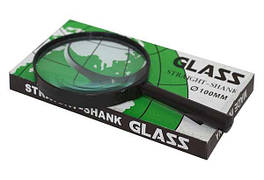Увеличительное стекло, 100мм, ЦЕНА ЗА 1ШТ.