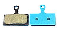 Тормозные колодки дисковые Sheng-Anдля Shimano Deore / SLX / XT / XTR / Alfine Semi metallic (полу-металл)