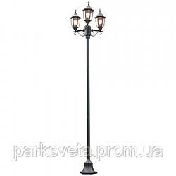 Светильник парковый, черный Shefield QMT 31231F4