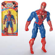 Супергерой СП, 19см, свет, подвижн.руки и ноги, батар., на листе, 13,5*29*3см (288шт)