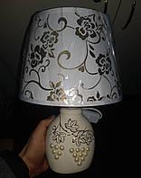 Настільна лампа з абажуром, фото 1
