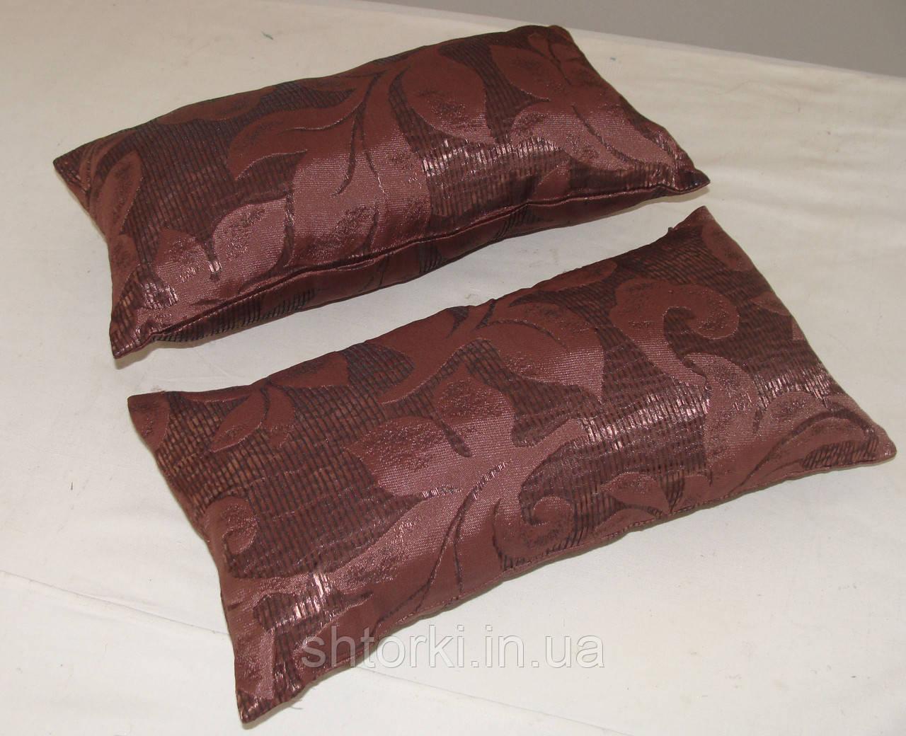 Комплект подушек бордово сливовая 40х20