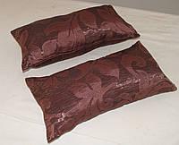 Комплект подушек бордово сливовая 40х20, фото 1