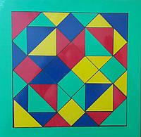 "Мозаика ""Танграм"", 4 цвета, 24*24см, пр. Украина"