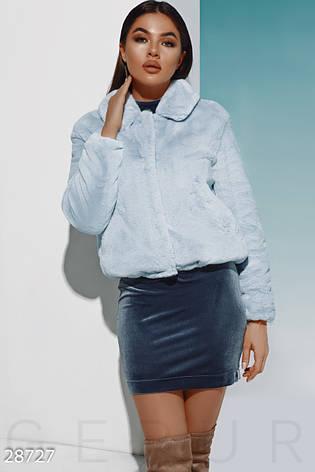 Теплая меховая куртка, фото 2
