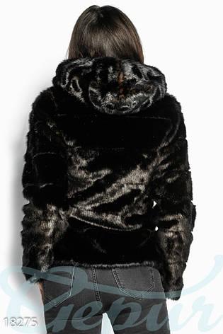 Укороченная теплая шуба, фото 2