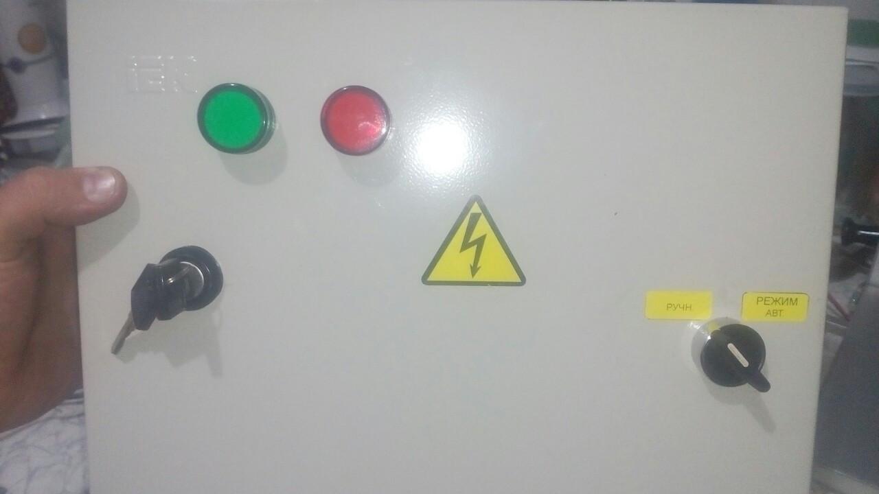 Автоматический запуск для генератора АВР 40 А 8,8 кВт три фазы
