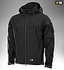 Демисезонная тактическая куртка SOFT SHELL M-TAC (dark grey), фото 2