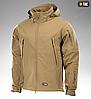Демисезонная тактическая куртка SOFT SHELL M-TAC (dark grey), фото 3
