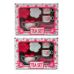 Посуда LN597A-B (24шт) чайный сервиз на 2персоны, в кор-ке, 29,5-22-11,5см