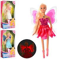 Кукла BLD081 (36шт) фея, 29см, свет, 3 вида, бат(таб), в кор-ке, 18-32,5-6см