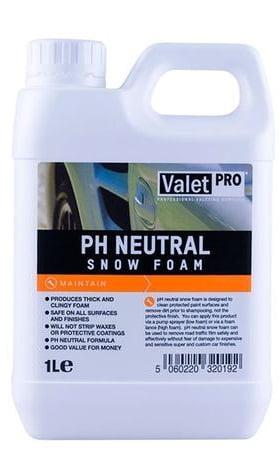 Valet Pro pH Neutral Snow Foam безопасная пена для предварительной мойки
