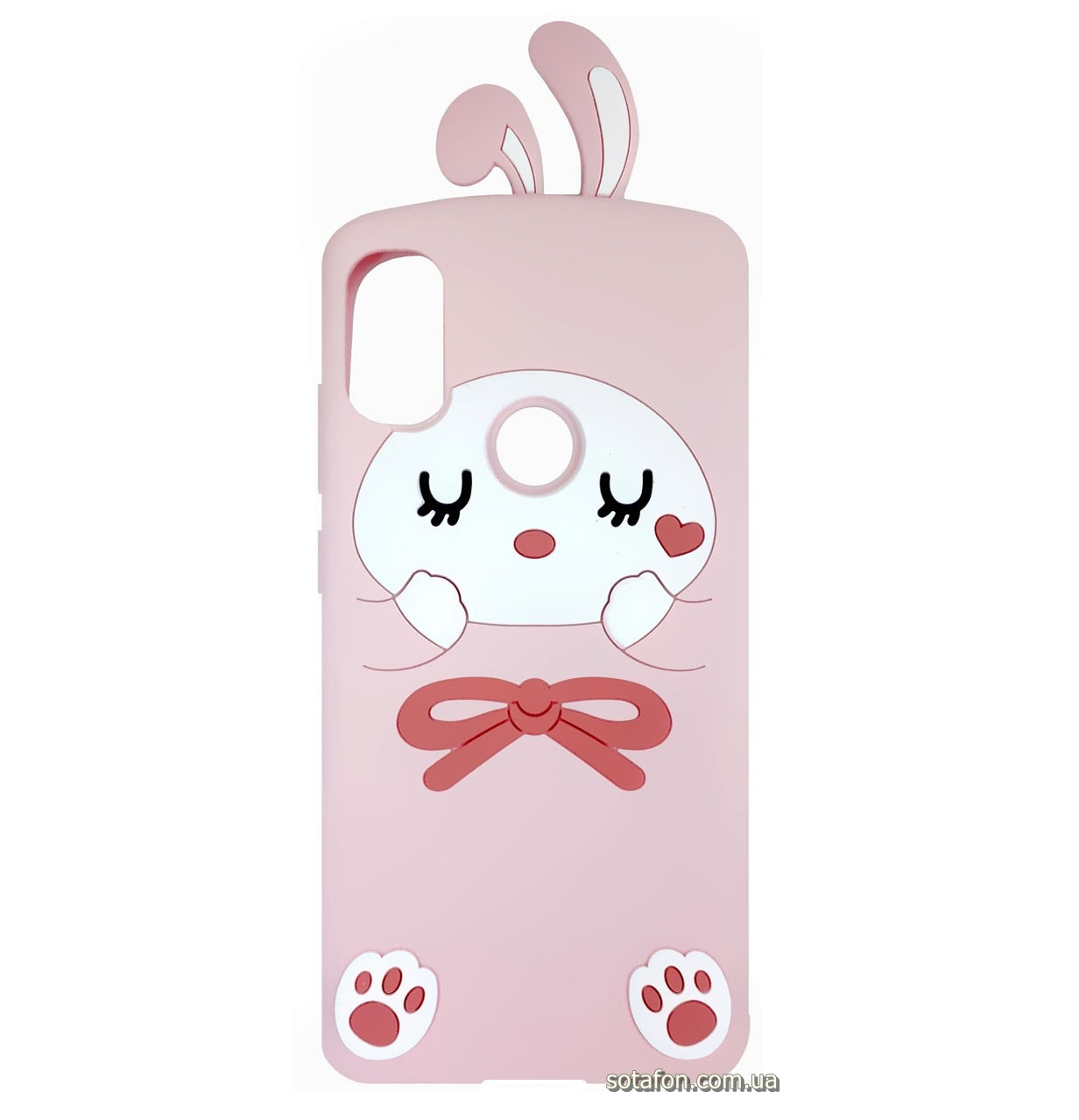 Чехол-накладка TPU Image Bunny для Xiaomi Redmi Note 5 Pro / Note 5 (Al Dual Camera) Pink