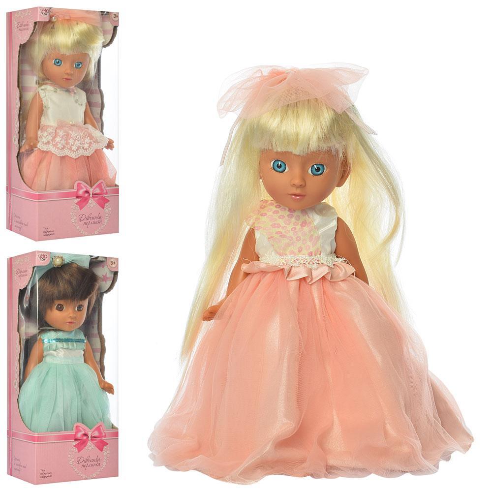 Кукла M 3872 UA (24шт) 32см, муз-укр.песня, 3вида, бат(таб), в кор-ке, 34,5-15,5-10см