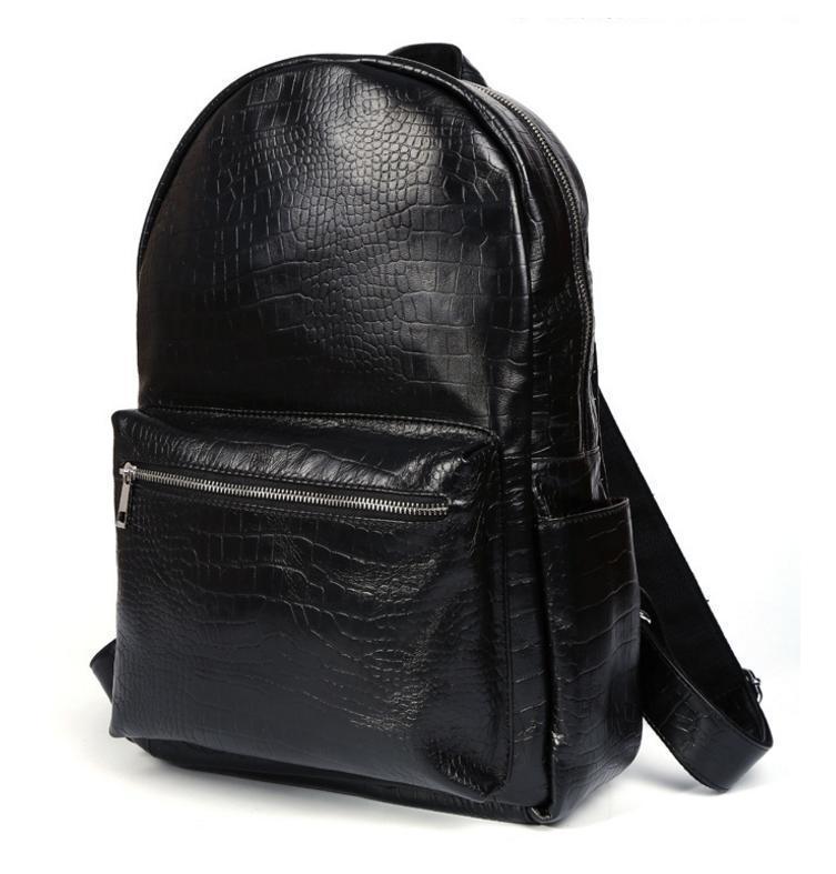56d6149e50ff Рюкзак Кожаный TIDING BAG T3123 Черный — в Категории