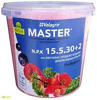 Комплексное минеральное удобрение Master (Мастер), 1кг, NPK 15.5.30+2Mg, TM ROSLA (Росла) арт.5760