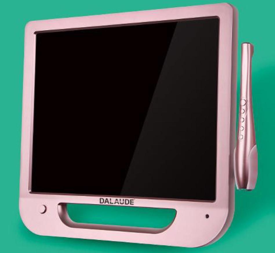Dalaude DA-100W rose монитор 17 дюймов с интраоральной камерой
