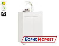 Комод Small furniture, белый №2  Botticelli для гостиной